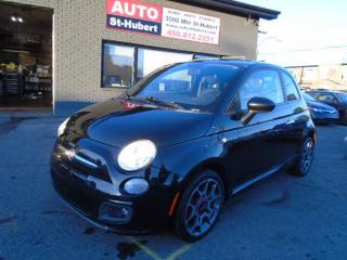 Used 2012 Fiat 500 Sport for sale in St-Hubert, QC