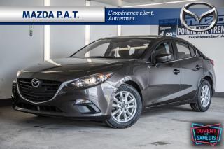 Used 2016 Mazda MAZDA3 AUTOMATIQUE,CAMÉRA DE RECUL.TOIT OUVRANT,BLUETOOTH for sale in Montréal, QC