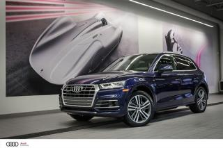Used 2018 Audi Q5 TECHNIK S-LINE - 2.0 TSFI - QUATTRO AWD for sale in Sherbrooke, QC