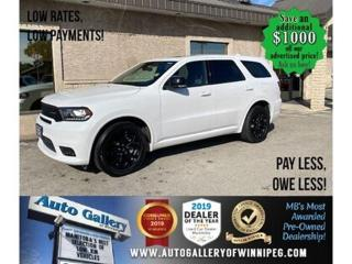 Used 2019 Dodge Durango GT* Awd/7pass/Navi/Roof for sale in Winnipeg, MB