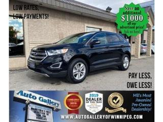 Used 2017 Ford Edge SEL* Awd/B. cam/B.tooth/ for sale in Winnipeg, MB