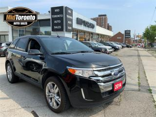 Used 2014 Ford Edge LIMITED | Low km | Excellent Condition | AWD | Navi | Power Roof | Leather for sale in North York, ON