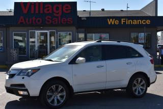 Used 2012 Acura MDX Elite Package Navigation! Heated & A/C Seats! for sale in Saskatoon, SK
