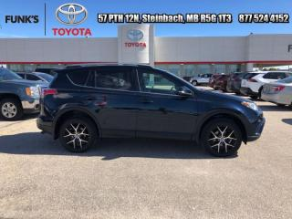 Used 2017 Toyota RAV4 AWD SE  - Navigation -  Sunroof for sale in Steinbach, MB
