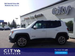 Used 2016 Jeep Renegade Limited for sale in Medicine Hat, AB