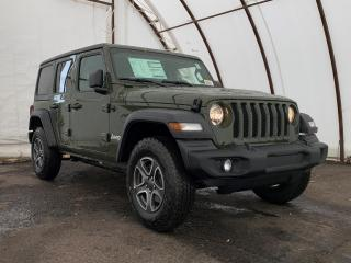 New 2021 Jeep Wrangler Unlimited Sport SPORT 'S' 4X4 for sale in Ottawa, ON