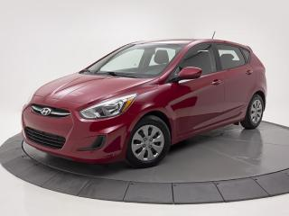 Used 2016 Hyundai Accent HATCHBACK AUTO SIEGES CHAUFFANTS BLUETOOTH for sale in Brossard, QC