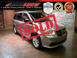 Used 2013 Dodge Grand Caravan w/ Pwr Sliding Drs, Pwr Liftgate, R. Start !!! for sale in Winnipeg, MB