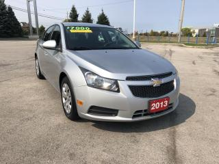 Used 2013 Chevrolet Cruze LT Turbo NICE CLEAN CAR for sale in Grimsby, ON