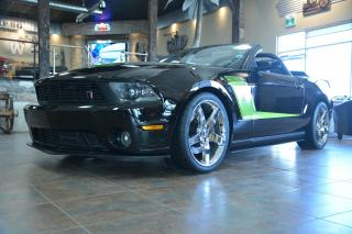 Used 2012 Ford Mustang 700 hp RARE ROUSH RS 3 LIMITED RUN  EDITION #12 for sale in Winnipeg, MB