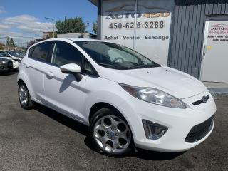 Used 2011 Ford Fiesta ***SES,AUTOMATIQUE,CUIR,TOIT,MAGS,A/C*** for sale in Longueuil, QC