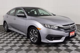 Used 2018 Honda Civic ADAPTIVE CRUISE CONTROL, APPLE CARPLAY & ANDROID AUTO, HEATED SEATS for sale in Huntsville, ON