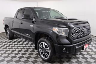 Used 2018 Toyota Tundra SR5 Plus 5.7L V8 TRD 4X4 SPORT PACKAGE, NAVIGATION, REMOTE START, TONNEAU COVER for sale in Huntsville, ON