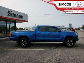 Used 2017 Toyota Tacoma TRD Sport  - Certified - Heated Seats - $312 B/W for sale in Simcoe, ON