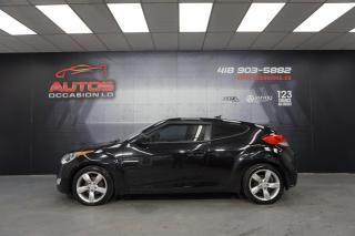 Used 2012 Hyundai Veloster MANUEL 6 VITESSES MAGS CAMERA BLUETOOTH 148 594 KM for sale in Lévis, QC
