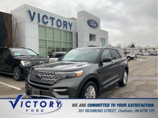 Used 2020 Ford Explorer Limited| 3.99% | PANO| ADAPTIVE CRUISE| NAV| for sale in Chatham, ON