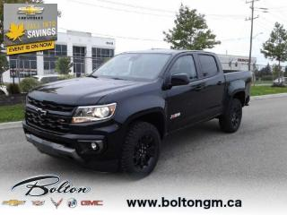 New 2021 Chevrolet Colorado Z71 - Safety Package for sale in Bolton, ON