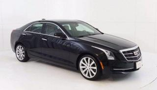 Used 2016 Cadillac ATS Sedan Luxury Collection RWD, 2.0L Turbo, Heated Leather for sale in Winnipeg, MB