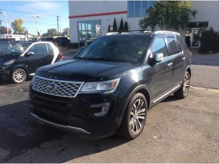Used 2017 Ford Explorer Platinum for sale in Sarnia, ON