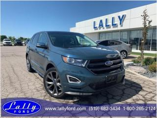 Used 2016 Ford Edge Sport, New Tires, Roof, Nav!! for sale in Tilbury, ON