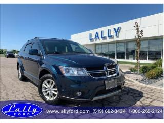 Used 2013 Dodge Journey SXT/Crew SXT, Rear DVD, Local Trade!! for sale in Tilbury, ON