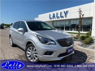 Used 2016 Buick Envision Premium 1, Leather, Roof, Mint!! for sale in Tilbury, ON