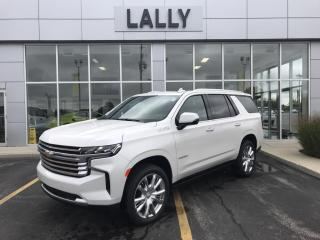 New 2021 Chevrolet Tahoe HIGH COUNTRY for sale in Tilbury, ON