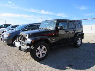 Used 2008 Jeep Wrangler Unlimited Sahara for sale in St. Thomas, ON