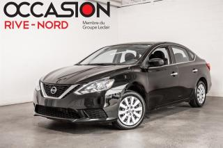 Used 2017 Nissan Sentra SV BLUETOOTH+SIEGES.CHAUFFANTS+CAM.RECUL for sale in Boisbriand, QC