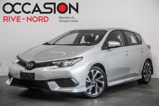 Used 2016 Scion iM MAGS+BLUETOOTH+CAM.RECUL for sale in Boisbriand, QC