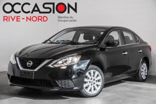 Used 2016 Nissan Sentra S BLUETOOTH+A/C+GR.ELECTRIQUE for sale in Boisbriand, QC