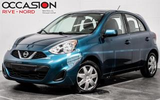 Used 2017 Nissan Micra S BLUETOOTH+A/C+GR.ELECTRIQUE for sale in Boisbriand, QC