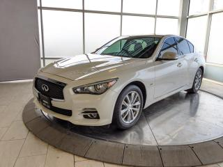 Used 2016 Infiniti Q50 2.0t NAVIGATION PKG for sale in Edmonton, AB