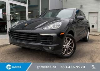 Used 2016 Porsche Cayenne DIESEL - AWD, LEATHER, POWER FOLDING MIRRORS, NAV, RARE!!!! for sale in Edmonton, AB