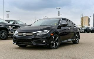 Used 2017 Honda Civic Sedan Touring 4dr FWD Sedan for sale in Red Deer, AB