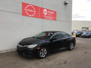 Used 2017 Honda Civic Sedan LX 4dr FWD Sedan for sale in Edmonton, AB