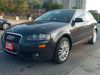 Used 2006 Audi A3 w/Premium Pkg-LEATHER-SUN MOON ROOF-4CYL-ALLOYS for sale in Scarborough, ON