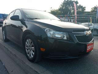 Used 2011 Chevrolet Cruze LT Turbo w/1SA-MINT-ONLY 114K-4CYL-GAS SAVER for sale in Scarborough, ON