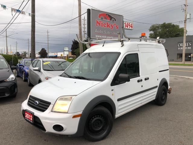 2012 Ford Transit Connect XLT - 114.6 - LADDER RACKS - SHELVING - CLEAN!