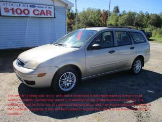 Used 2007 Ford Focus SES for sale in North Bay, ON