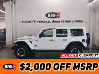 New 2021 Jeep Wrangler Rubicon 4WD for sale in Calgary, AB