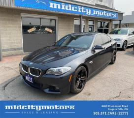 Used 2011 BMW 5 Series 550i xDrive M-Sport | FULLY LOADED | CLEAN CARFAX for sale in Niagara Falls, ON