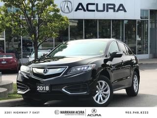 Used 2018 Acura RDX Tech at for sale in Markham, ON
