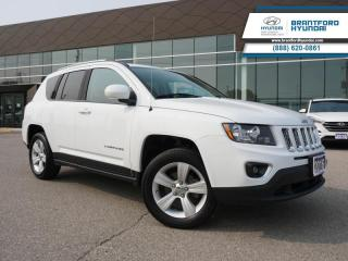 Used 2016 Jeep Compass 4X4 | HTD SEATS | LEATHER | BLUETOOTH  - $138 B/W for sale in Brantford, ON