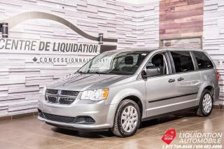 Used 2015 Dodge Grand Caravan Canada Value Package+GR/ELECTRIQUE for sale in Laval, QC