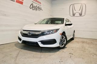 Used 2016 Honda Civic LX 4 PORTES for sale in Blainville, QC