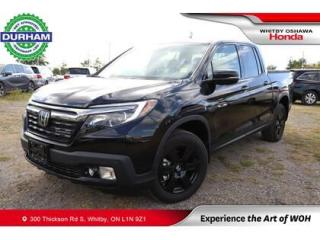 Used 2020 Honda Ridgeline Black Edition AWD for sale in Whitby, ON