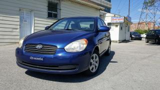 Used 2009 Hyundai Accent Manual /  GL / Certified / Warranty for sale in Scarborough, ON