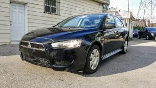 Used 2010 Mitsubishi Lancer DE,DE for sale in Scarborough, ON
