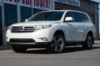 Used 2012 Toyota Highlander BACKUP CAM - SUNROOF - HEATED/POWER SEATS for sale in Chatham, ON